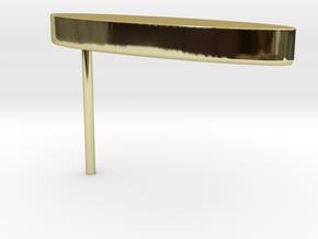Minimalist Signet Earring in 18K Gold Plated