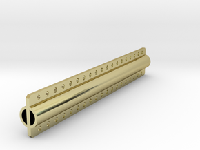 Lifting beam 100mm in 18K Gold Plated