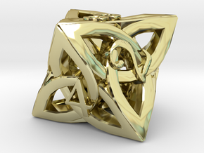 Celtic D8 in 18K Gold Plated