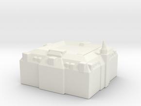 Amsterdam - Sample 02 in White Natural Versatile Plastic