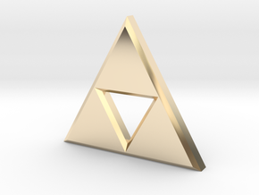 Triforce in 14K Yellow Gold