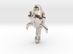 SUPERNATURAL Amulet 3.5cm in Rhodium Plated Brass