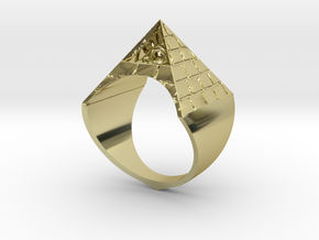 Illuminati Ring in 18K Gold Plated