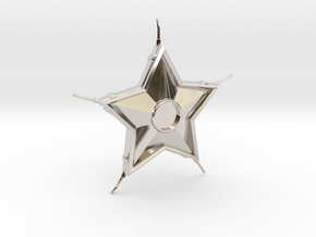 Smallville Starro Device Replica Prop in Rhodium Plated Brass