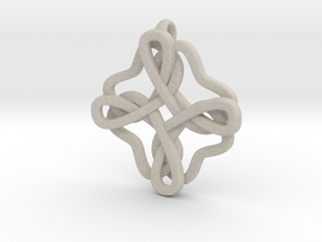 Friendship knot in Sandstone