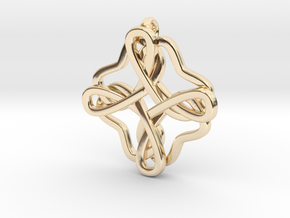 Friendship knot in 14K Yellow Gold