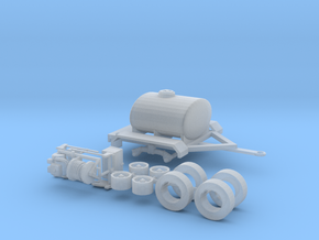 1/64th Water Tender, Fire Support, Fertilizer Tank in Frosted Ultra Detail