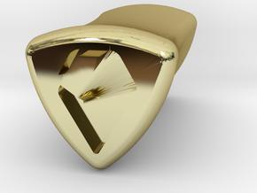 Stretch Logo 4 By Jielt Gregoire in 18K Gold Plated