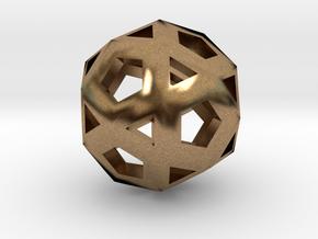 Logic Hypercube in Natural Brass
