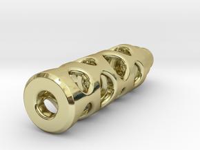Tritium Lantern 1B (Silver/Brass/Plastic) in 18K Gold Plated