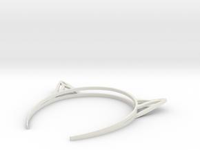 Catears Mark 3 in White Natural Versatile Plastic