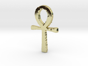 Ankh in 18K Gold Plated