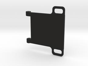 22MM Battery strap and esc mount. in Black Natural Versatile Plastic