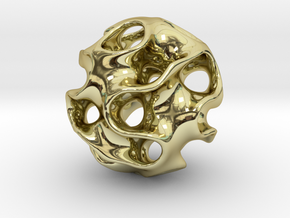 GYRON Sphere - 60mm in 18K Gold Plated