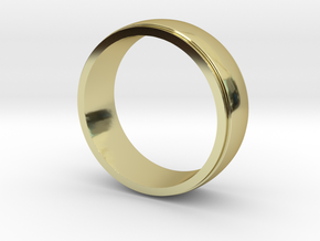 Basic Ring-2 in 18K Gold Plated