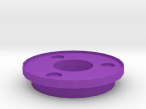 IGOR Tri-Circles Barrel Tip With Lip in Purple Processed Versatile Plastic