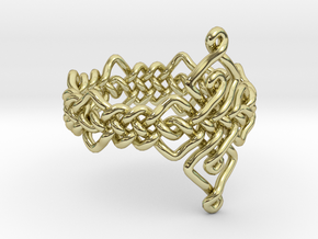 Celtic Ring - Size 7 in 18K Gold Plated