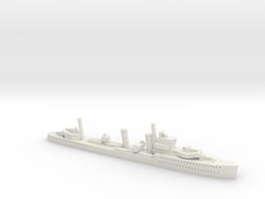 HMS Glowworm (G/H class) 1/1800 in White Natural Versatile Plastic