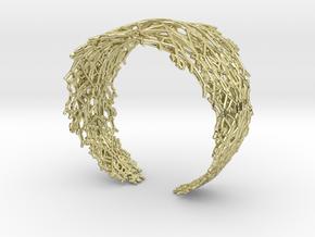 Fractal Snowflake Bracelet  in 18K Gold Plated