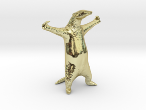 Golden Anteater - Come at me bro! in 18K Gold Plated