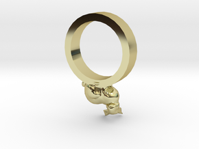 Bunny Ring size 11 in 18K Gold Plated