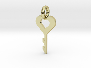 key to my heart in 18K Gold Plated