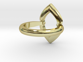 Ring-L in 18K Gold Plated