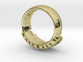 US14 Ring VI: Tritium in 18K Gold Plated
