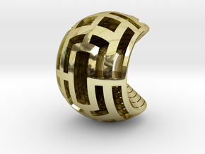 Multilayer Open Sphere Light,  HandHeld Toy. in 18K Gold Plated