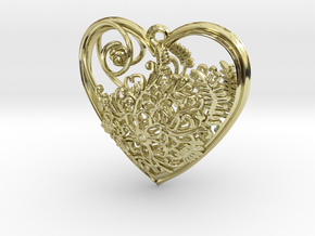 Elven Heart in 18K Gold Plated