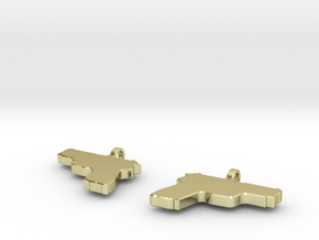 P229 EARRING DANGLES (FIT 16 GAUGE JEWELRY) in 18K Gold Plated