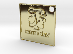 Rhett and Link Tag in 18K Gold Plated