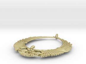 Falling Angel Pendant in 18K Gold Plated