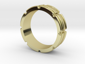 Century Band US 9.5 in 18K Gold Plated