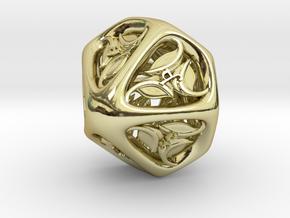 Tengwar Elvish D10 (Numbered 1-10) in 18K Gold Plated