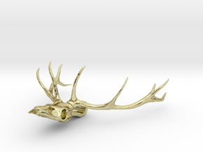 Antler's Stag in 18K Gold Plated
