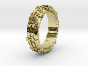 Superswamper Female in 18k Gold Plated Brass: 4 / 46.5