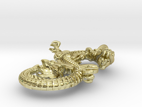 Dragon pendant # 2 in 18K Gold Plated