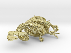 Dragon pendant # 3 in 18K Gold Plated