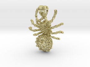Spider pendant in 18K Gold Plated
