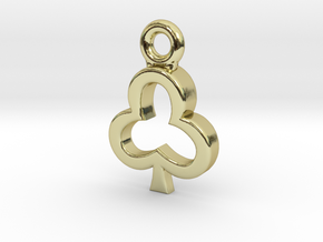 Club Charm / Pendant / Trinket in 18K Gold Plated