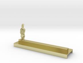 Porte Couteau Soldat 2 Xian in 18K Gold Plated