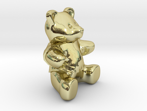 Nounours - Teddy Bear in 18K Gold Plated