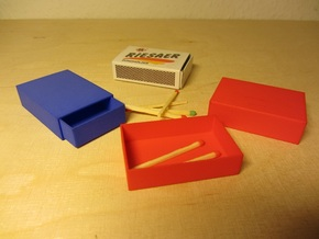 Streichholzschachtel / Matchbox in White Strong & Flexible