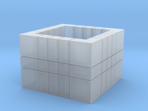 5x5x3 (Read Description)  in Smooth Fine Detail Plastic