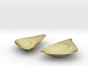 LEAF_pair of earrings in 18K Gold Plated