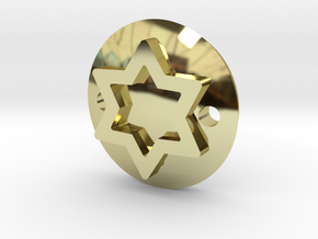 Maguen David bracelet in 18K Gold Plated