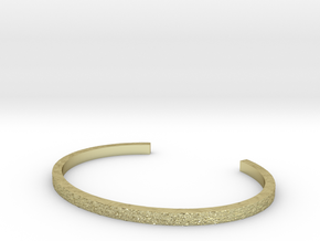 Hammered Bangle in 18K Gold Plated