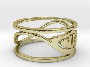 CTR Wired (Size 5.75 x 8.8 mm) in 18K Gold Plated