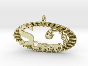 Scorpio Effect in 18K Gold Plated
